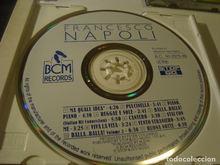 Rar cd  francesco napoli  balla  the first danc - Sold through