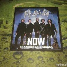 CDs de Música: DEF LEPPARD -NOW-CD SINGLE COLLECTORS EDITION. Lote 97511795