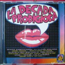CDs de Música: LA DECADA PRODIGIOSA....1ª EDICION SELLO DIFUSION...MUY MUY DIFICIL. Lote 97556279