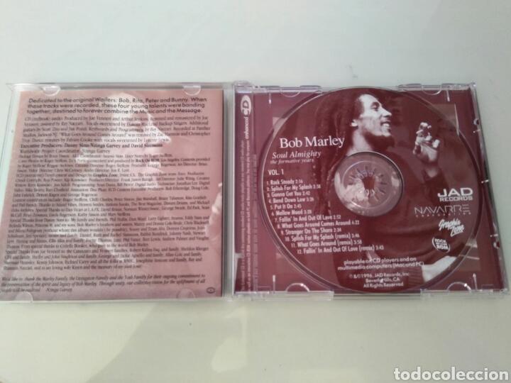 CDs de Música: Bob Marley - Soul Almighty - vol 1 - Enhanced cd - Foto 3 - 97577734