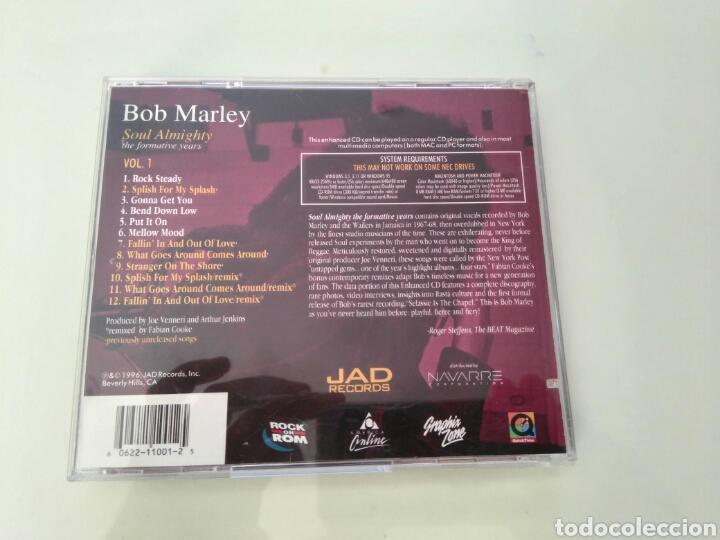 CDs de Música: Bob Marley - Soul Almighty - vol 1 - Enhanced cd - Foto 4 - 97577734