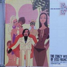 CDs de Música: THE CRAZY WORLD OF JESS FRANCO, JESS FRANCO AND HIS B. BAND. CD. Lote 97585991
