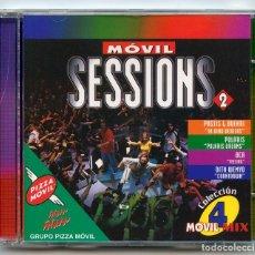 CDs de Música: CD - MÓVIL SESSIONS 2 - COLECCIÓN MÓVIL MIX 4 - PIZZA MÓVIL - MAX MUSIC - 1998. Lote 97589495