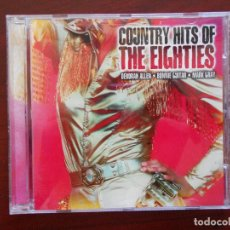 CDs de Música: CD COUNTRY HITS OF THE EIGHTIES - VARIOUS ARTISTS (3F). Lote 97606267