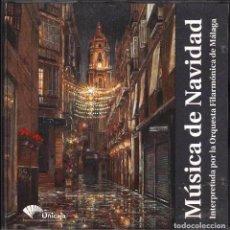 CDs de Música: MALAGA MUSICA DE NAVIDAD INTERPRETADA POR LA ORQUESTA FILARMONICA DE MALAGA A. RAHBARI CD. Lote 97623019