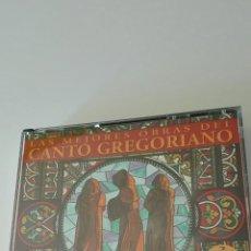CDs de Música: LAS MEJORES CANCIONES DEL CANTO GREGORIANO. Lote 97634562