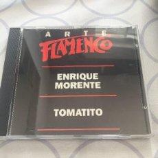 CDs de Música: ARTE FLAMENCO ENRIQUE MORENTE/TOMATITO. Lote 97665047