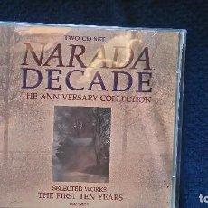 CDs de Música: THE DECADE.NARADA.2CDS.VANGELIS,ETC. Lote 97680323