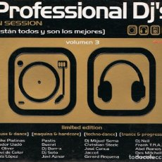 CDs de Música: CD PROFESSIONAL DJ´S VOLUMEN 3 ( 4 CD´S). Lote 97691331