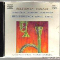 CDs de Música: CD - BEETHOVEN - MOZART - MASCAGNI - AUBER - ENGELBERT HUMPERDINCK . Lote 97692063