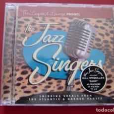 CDs de Música: VARIOUS - THE LEOPARD LOUNGE PRESENTS THE JAZZ SINGERS (CD, COMP) . Lote 97697367
