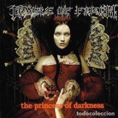 CDs de Música: CRADLE OF FILTH - THE PRINCESS OF DARKNESS--BLACK METAL ---RAREZA!!. Lote 97710415