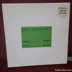 CDs de Música: PAUL MCCARTNEY - BEATLES - PRESS CONFERENCES - CAJITA CON CD + 2 FOTOS - MUY RARA- EDICION LIMITADA. Lote 97801459