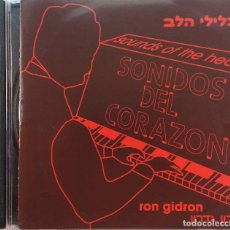 CDs de Música: RON GIDRON. SOUNDS OF THE HEART. CD. Lote 97874203
