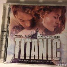 CDs de Música: CD ORIGINAL TITANIC (BANDA SONORA ORIGINAL) JAMES HORNER CELINE DION. Lote 97955163