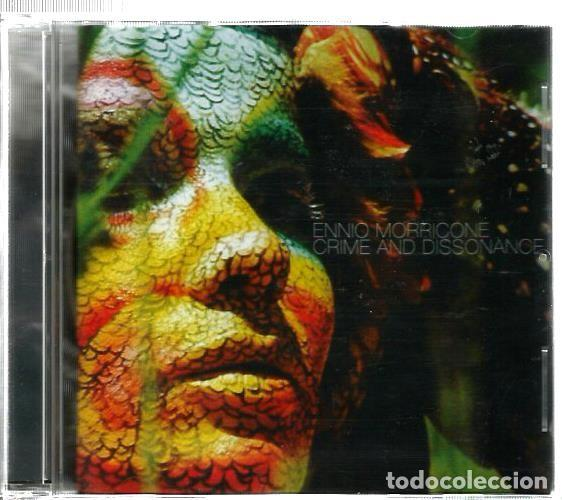 DOBLE CD ENNIO MORRICONE : CRIME AND DISSONANCE (TEMAS CENTRALES BANDAS SONORAS THRILLERS Y TERROR ) (Música - CD's Bandas Sonoras)