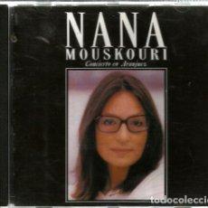 CDs de Música: CD NANA MOUSKOURI : CONCIERTO DE ARANJUEZ + RECUERDOS DE LA ALHAMBRA + LA ANDALUZA+ ETC. Lote 97965055