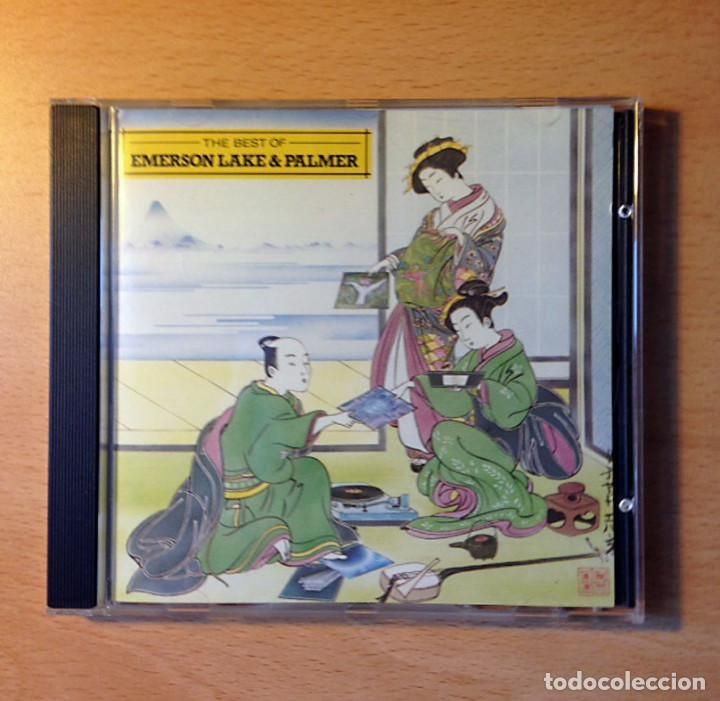 CD - EMERSON LAKE & PALMER - THE BEST OF - ATLANTIC (Música - CD's Techno)