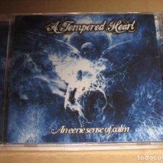 CDs de Música: (SIN ABRIR) A TEMPERED HEART - AN EERIE SENSE OF CALM. Lote 217621916