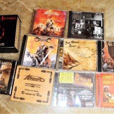CDs de Música: LOTE X 15 CD'S ORIGINALES POP ROCK . BUEN ESTADO ÁNGELES DEL INFIERNO, NOSTRADAMUS ETC. Lote 98035779