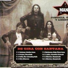 CDs de Música: MANÁ CON CARLOS SANTANA - CD SINGLE - EDITADO EN ALEMANIA - 2 TEMAS - WEA RECORDS 2003. Lote 98045351