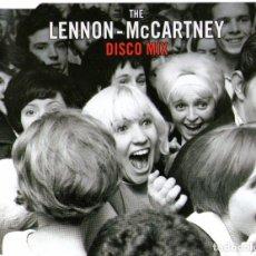 CDs de Música: THE LENNON-MCCARTNEY DISCO MIX - BEATLES MEDLEY - CD SINGLE - EDITADO ALEMANIA - 3 TEMAS - EDEL 2003. Lote 98045491