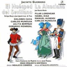 CDs de Música: CD 2 ZARZUELAS - EL HUÉSPED DEL SEVILLANO Y LA ALSACIANA - JACINTO GUERRERO - ED. COLUMBIA-BMG 1995.. Lote 98046215