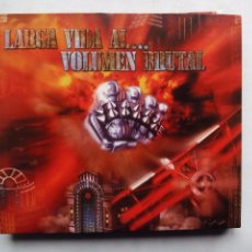 CDs de Música: LARGA VIDA AL ... VOLUMEN BRUTAL. CD DOBLE LOCOMOTIVE LM 084. ESPAÑA 2002. TRIBUTO A BARÓN ROJO.. Lote 98055947