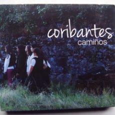 CDs de Música: BANDA DE GAITAS CORIBANTES DE BUCHABADE. CAMIÑOS. CD+DVD. FOLK PONTE CALDELAS GALICIA. BERNARDO XOSÉ. Lote 98060507