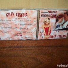 CDs de Música: CANCIONES ORIGINALES DEL CINE - 10 CANCIONES GRAN CINEMA - DVD VOLUMEN 2. Lote 98090175
