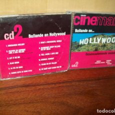 CDs de Música: CINEMANIA -BAILANDO EN HOLLYWOOD - 12 CANCIONES DE CINE - CD . Lote 98090211