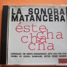 CDs de Música: LA SONORA MATANZERA ESTE CHA CHA CHA CD ALBUM COMO NUEVO¡¡ 1996. Lote 98091199