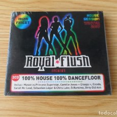 CDs de Música: ROYAL FLUSH - IBIZA FINEST - 2 CD PRECINTADO. Lote 98114919