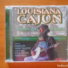 CDs de Música: CD LOUISIANA CAJUN - 20 STOMPS FROM THE SWAMPS (3I). Lote 98123171