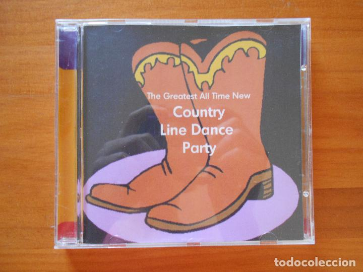 CD THE GREATEST ALL-TIME NEW COUNTRY LINE DANCE PARTY (3I) (Música - CD's Country y Folk)