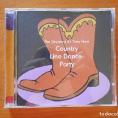 CDs de Música: CD THE GREATEST ALL-TIME NEW COUNTRY LINE DANCE PARTY (3I). Lote 98123751