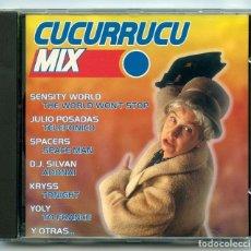 CDs de Música: CD - CUCURRUCU MIX - CODE MUSIC - 1996. Lote 98134427