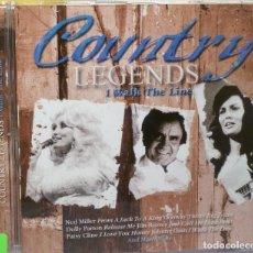 CDs de Música: COUNTRY LEGENDS - I WALK THE LINE. Lote 98099172