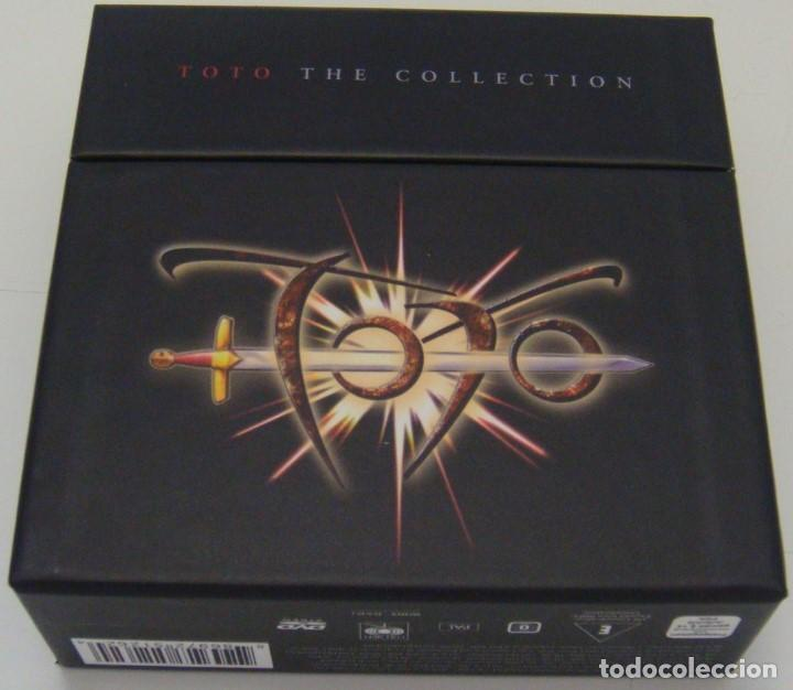 7XCD + DVD - TOTO - THE COLLECTION - TOTO (Música - CD's Rock)