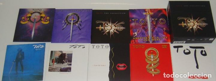 CDs de Música: 7XCD + DVD - TOTO - THE COLLECTION - TOTO - Foto 3 - 98137627
