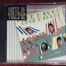 CDs de Música: CANTORES DE HISPALIS (GENTE GÜENA) CD 1988 SERIE VOCES DE ORO. Lote 98138551