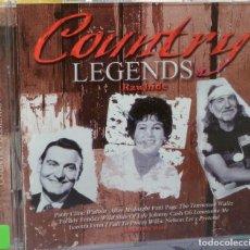 CDs de Música: COUNTRY LEGENDS - RAWHIDE. Lote 98099118