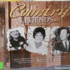 CDs de Música: COUNTRY LEGENDS - RAILROAD BILL. Lote 98099134