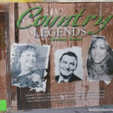 CDs de Música: COUNTRY LEGENDS - COWBOY BOOTS. Lote 98099138