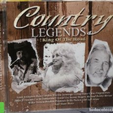 CDs de Música: COUNTRY LEGENDS - KING OF THE ROAD. Lote 98099176
