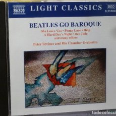 CDs de Música: BEATLES GO BAROQUE. Lote 98099184