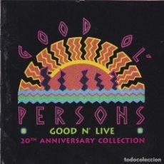 CDs de Música: GOOD OL´PERSONS,GOOD N LIVE EDICION USA DEL 95. Lote 98152971