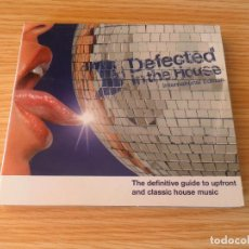 CDs de Música: DEFECTED IN THE HOUSE - INTERNATIONAL EDITION - 2 CD DIGIPACK. Lote 98166963