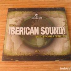 CDs de Música: IBERICAN SOUND! VOL. 3 - CD DIGIPACK. Lote 98167275