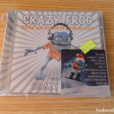 CDs de Música: CRAZY FROG - TODOS LOS ÉXITOS DE LA RANA LOCA - CD PRECINTADO. Lote 98167431